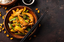 Kung Pao Chicken, Stir-fried C...