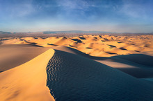 Glamis Dunes Before Sunset