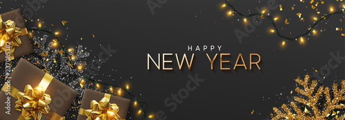 Foto  Happy New Year banner