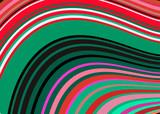 Meksykański koc paski falisty kształt wektor wzór. Typowa tekstylna kolorowa tkanina z Ameryki Środkowej - 237088954