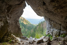 Cave In The Tatra Mountains, Poland