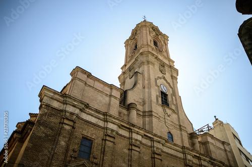 San Lorenzo church in Huesca
