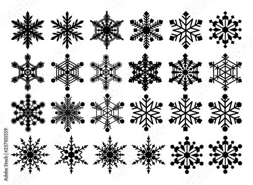 Stoffe zum Nähen 雪の結晶