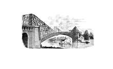 Retro Image Of The Bridge