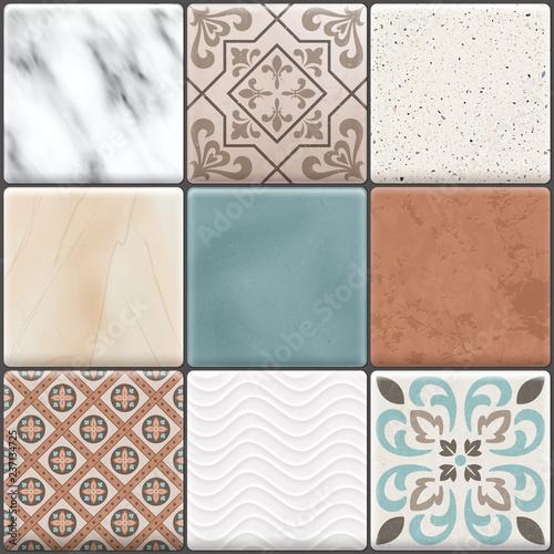 zestaw-ikon-realistyczne-ceramiczne-plytki-podlogowe