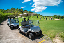 Golf Carts Parking Near Golf C...