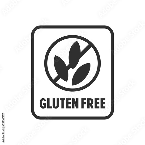 Gluten free symbol - Vector - Buy this stock illustration and