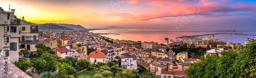 Fotografia Panorama di Salerno all'alba