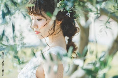 Obraz 花嫁 - fototapety do salonu