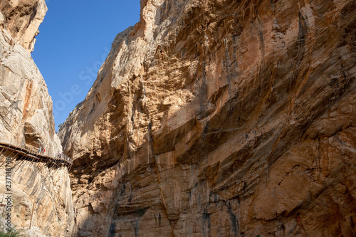 Photo  El Caminito del Rey (King's Little Path), one of the most Dangerous in the world