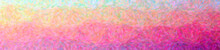 Illustration Of Abstract Purple Impressionist Pointlilism Banner Background.