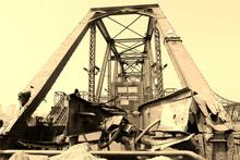 Yalu River Broken Bridge Site, China