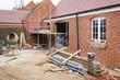 canvas print picture - Building site UK