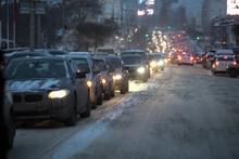 Snow Transport Road City / Lan...