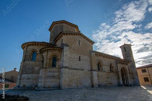 Famous romanesque church San Martin de Tours in Fromista, Palencia, Spain.