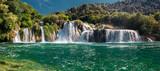 Krka National Park. Skradinski buk. Croatia