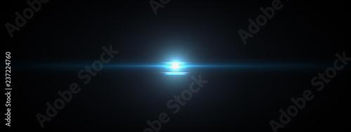 lights optical lens flares shiny Canvas Print