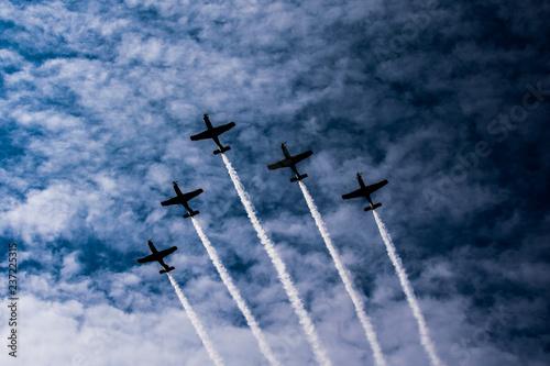 Foto  Pokazy lotnicze Święto Wojska Polskiego