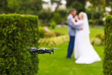 Hovering Drone Taking Pictures...