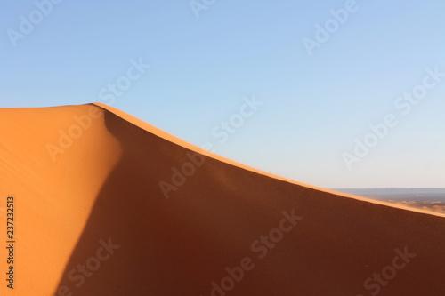 Foto  Sahara desert sand dune