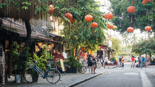 Photo  Straße in Hoi An Vietnam
