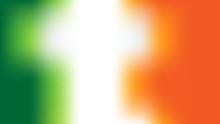 Irish Flag Colored Background