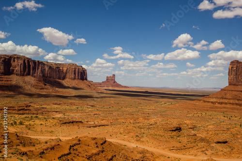 Foto op Aluminium Oranje eclat Monument Valley, Arizona-Utah