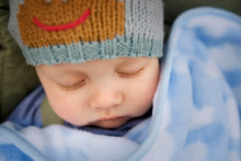 Young Baby Sleeping.