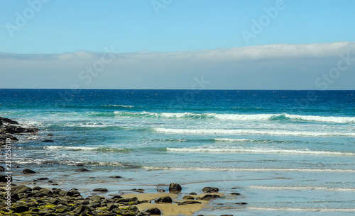 Foto op Aluminium Oceanië Great ocean road. . View the twelve apostles from a helicopter.