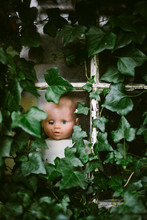 A Face At The Window. A Child'...