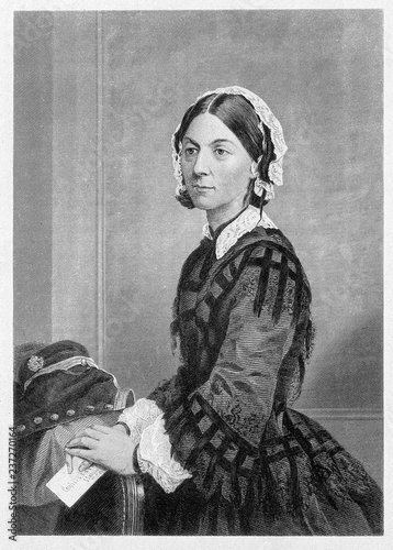 Photo Portrait of Florence Nightingale