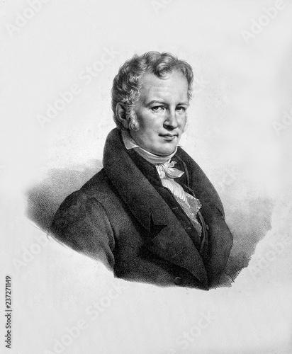 Photo Portrait of scientist Alexander Von Humboldt