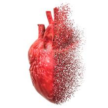 Heart Disease Concept. 3D Rendering