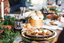 Food On Dinner Table