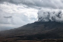 Roraima Mount In Clouds