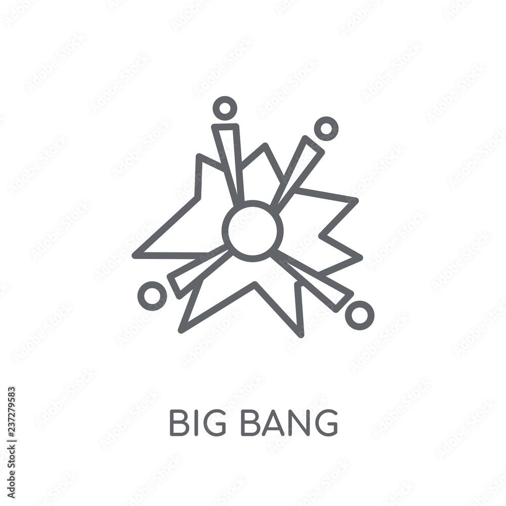 Photo Art Print Big Bang Linear Icon Europosters