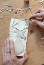 Creation Of Lino Stamp