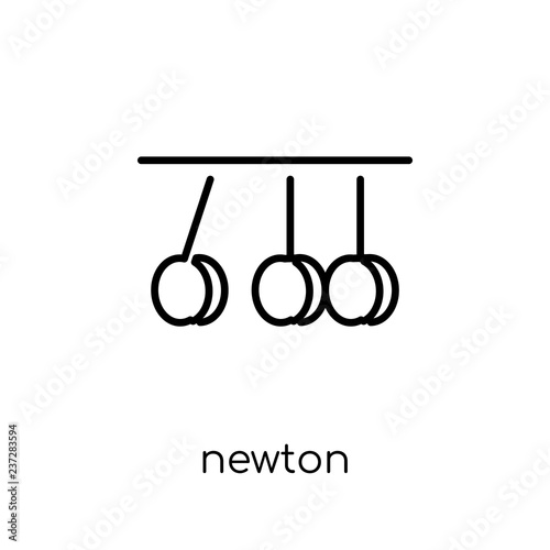 Photo  Newton icon from Science collection.