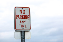 No Parking Any Time With The Sky