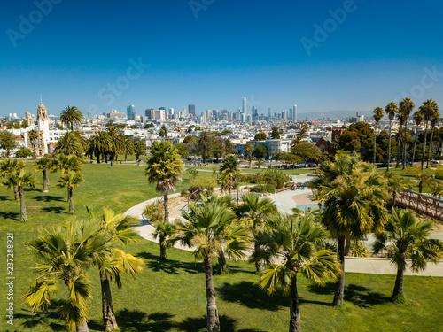 Fotografie, Obraz  San Franciso skyline