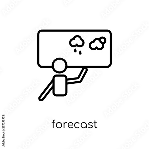 Fotografía  Forecast icon from collection.