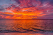 canvas print picture - sunset dreams