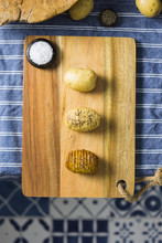 Step By Step Hasselback Potatoes