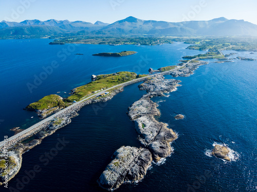 The Atlantic Road in Norway Fototapeta