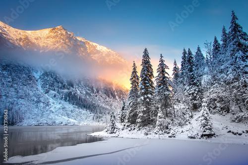 Fototapeta Winter Mountain landscape obraz