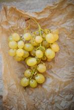 Ripe Grapes Sells On Market