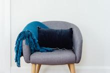 Tub Chair With Cushion And Thr...