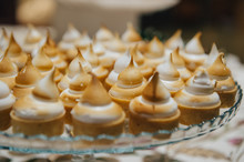 Gourmet Meringue Cookies In And Event Setting
