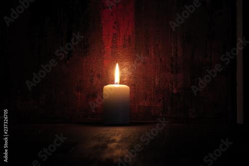 Kerze Fototapete
