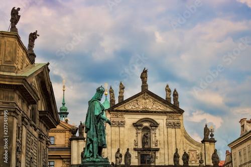 Prag, Kreuzherrenkirche und Nikolauskirche